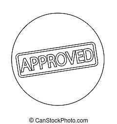 stamp approved text