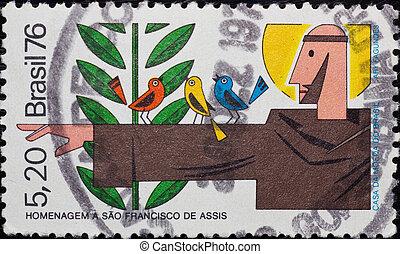 Stamp Brasil