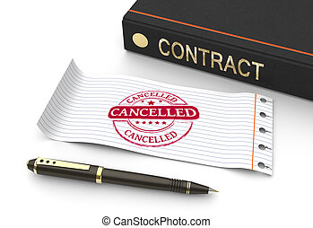 Stamp cancelled