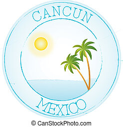 Stamp Cancun
