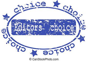 stamp :Editors Choice