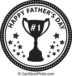 Stamp Fathers Day Cup