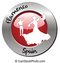 Stamp Flamenco