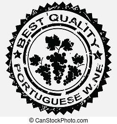 Stamp for Portuguese wine