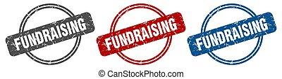 stamp., fundraising, cégtábla., állhatatos, címke