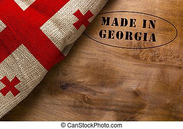 Stamp Made in Georgia