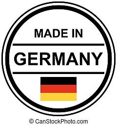 stamp Made in Germany