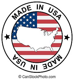 """Stamp """" Made in USA """""""