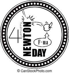 Stamp Newton Day