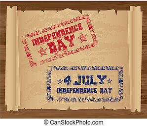 Stamp of Independence Day