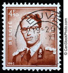 Stamp printed in Belgium - BELGIUM - CIRCA 1970: A stamp...