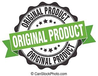 stamp., prodotto, originale, segno., sigillo