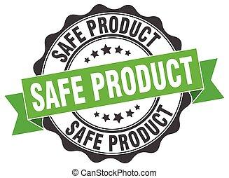 stamp., prodotto, sicuro, segno., sigillo