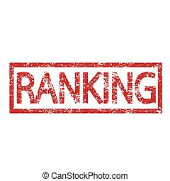 Stamp text RANKING