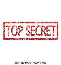 stamp text top secret