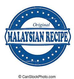 Malaysian recipe