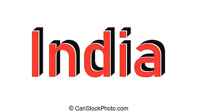 Stamp with text no one in India inside, vector illustration