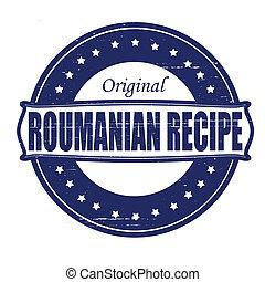 Roumanian recipe