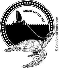 Stamp World Turtle Day