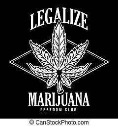 stampa, legalize, marijuana