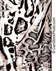 stampa, leopardo, animale, fondo
