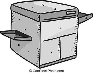 stampante, laser