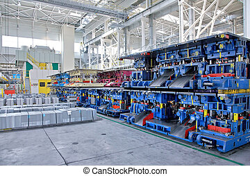 stamping lines in a car plant - stamping lines for small car...