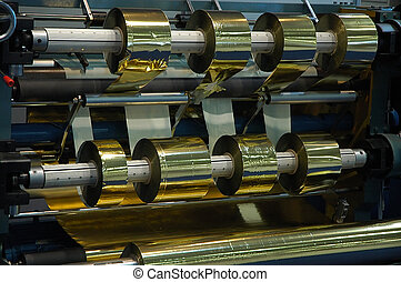 Stamping machine - Foil stamping machine