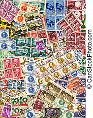 Stamps Collage