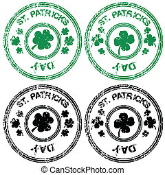 Stamps for St. Patrick's Day