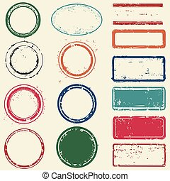 Stamps frames