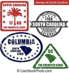 Stamps of South Carolina, USA