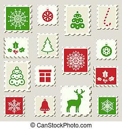 stamps., postai, állhatatos