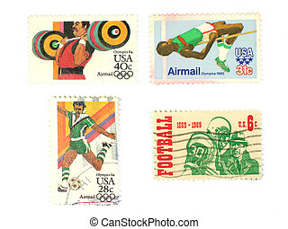 Stamps: US Sport