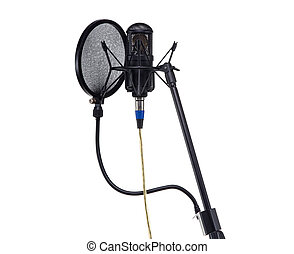 Stand for audio microphone