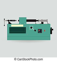 Machine for repair