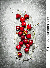 stand., fresco, pietra, ciliegia