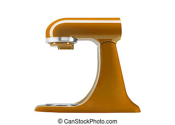 stand kitchen mixer isolated
