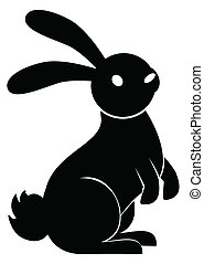 stand, lapin