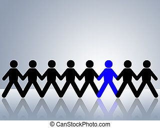 stand out from crowd be different