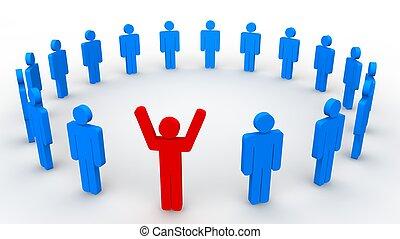 stand out from the crowd  - stand out from the crowd