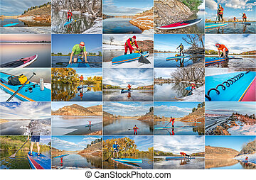 stand up paddling picture collection