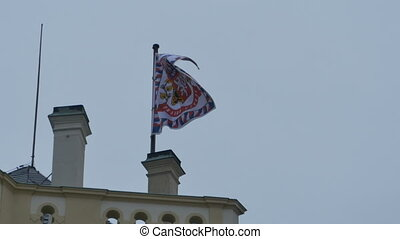 Standard of the President in Prague City - Flag of the...