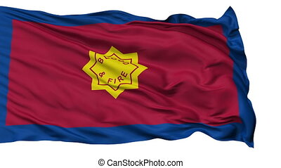 Standard of the Salvation Army Religious Isolated Waving...