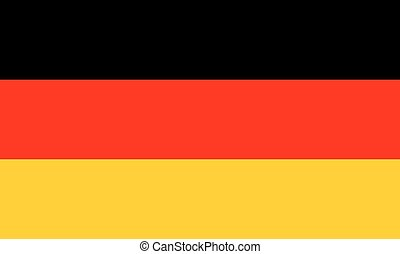 Standard Proportions for Germany Flag