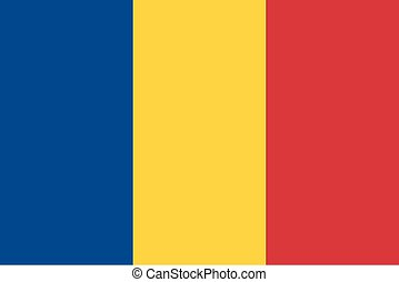 Standard Proportions for Romania Flag
