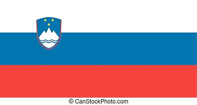Standard Proportions for Slovenia Flag