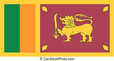 Standard Proportions for Sri Lanka Flag