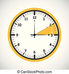standard time after advancing for daylight saving time summer