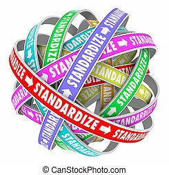 standardize, palavra, estradas, ciclo, consistent, método,...